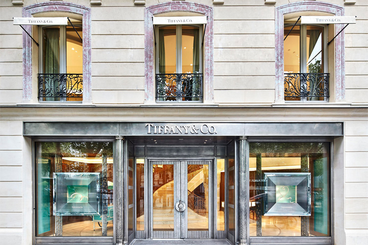 Tiffany & Co.: founded in 1837