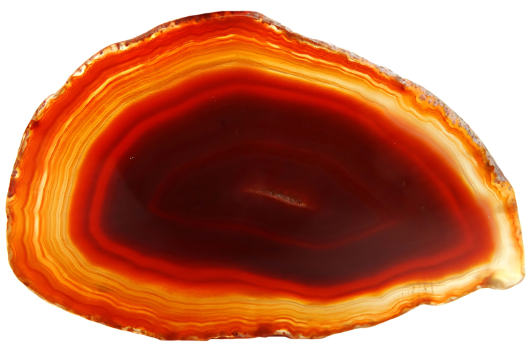 The Agate: from the Greek river Achates