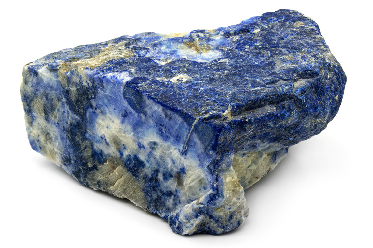 Lapis lazuli: from the Latin 'lapis' and from the Persian and Arabic 'lazuli'