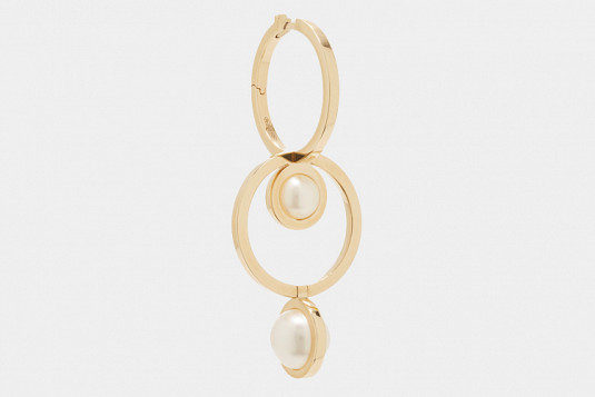 Cult Pieces: 360º Double Hoop Earring, by Delfina Delettrez