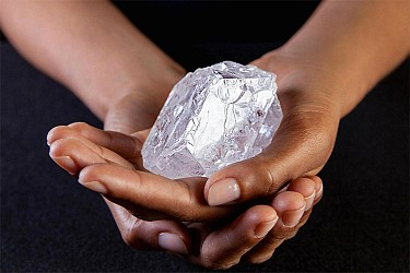 "Will the ""Lesedi La Rona"" become the world ' s largest high-quality diamond?"