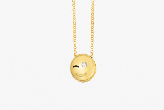 6 Cute Emoji Pendants by Roberto Coin