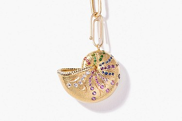 Cult Pieces: Nautilus Pendant, by Aurélie Bidermann