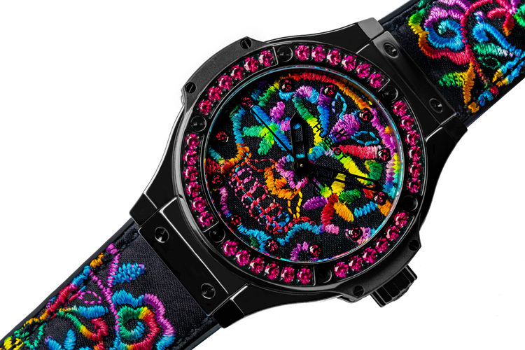 Hublot: meet the new Big Bang Broderie Sugar Skull 41mm | Photo: Hublot