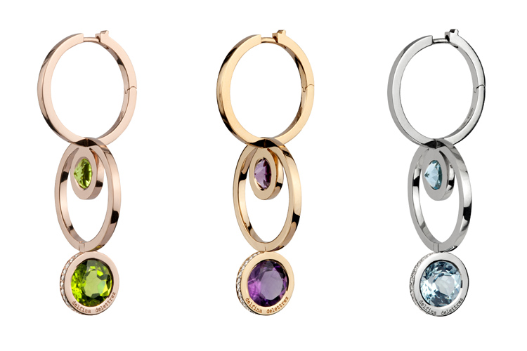 The 360º Double Hoop Earrings