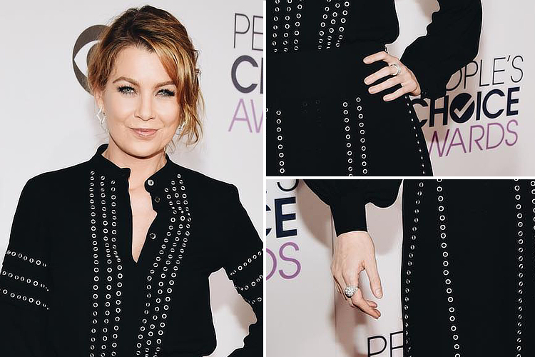 Ellen Pompeo: elegance ate the 2016 People's Choice Awards