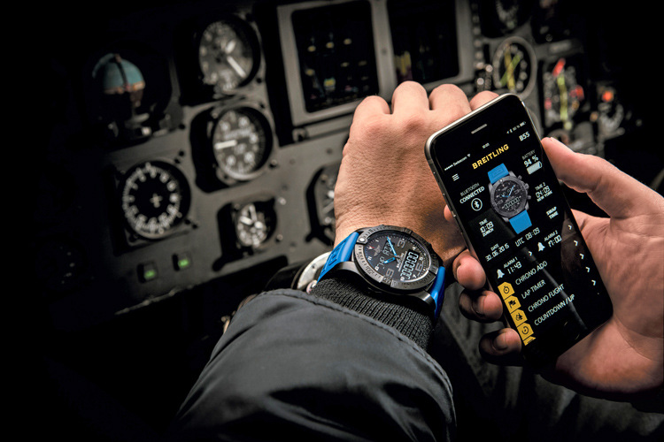 Exospace B55: Breitling's first smart watch | Photo: Breitling