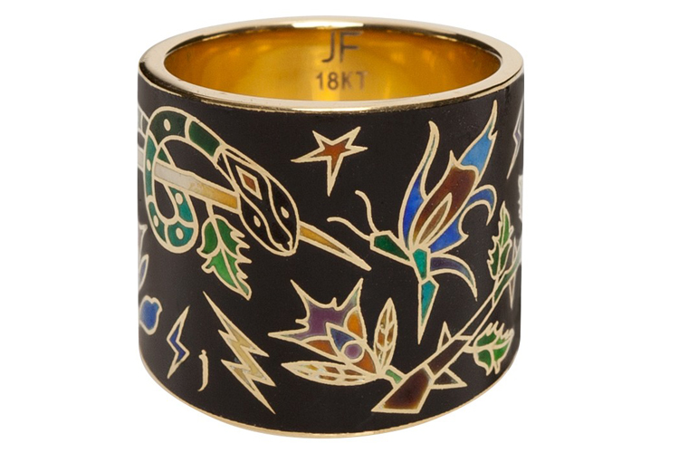 Jennifer Fisher: the 10 Year Anniversary Enamel Cigar Band