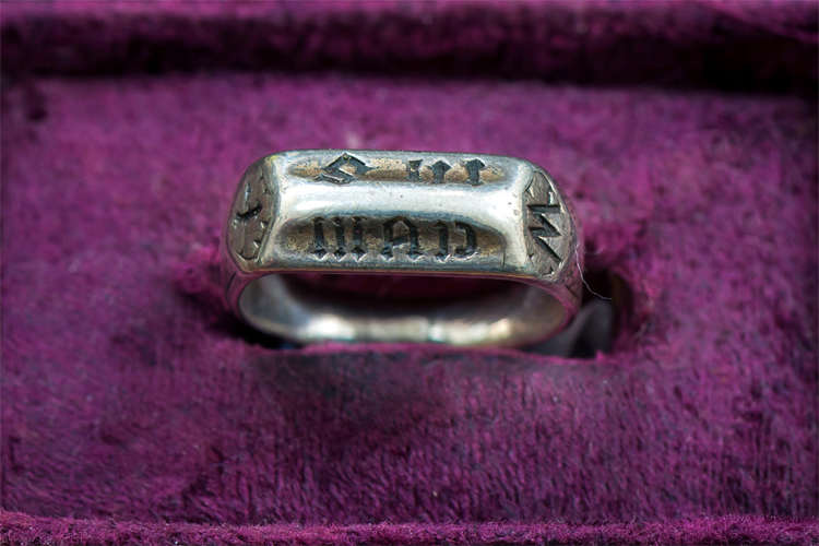 Joan of Arc's ring: sold for £297,600