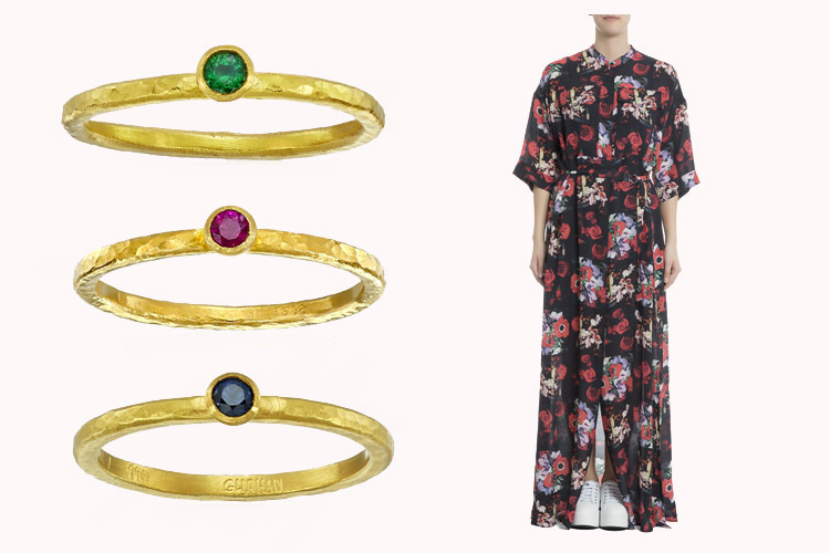 Gurhan Ring | Kenzo Dress