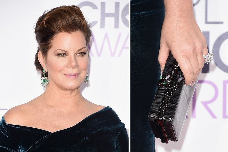 Marcia Gay Harden: a vision in Bulgari at the 2016 People's Choice Awards