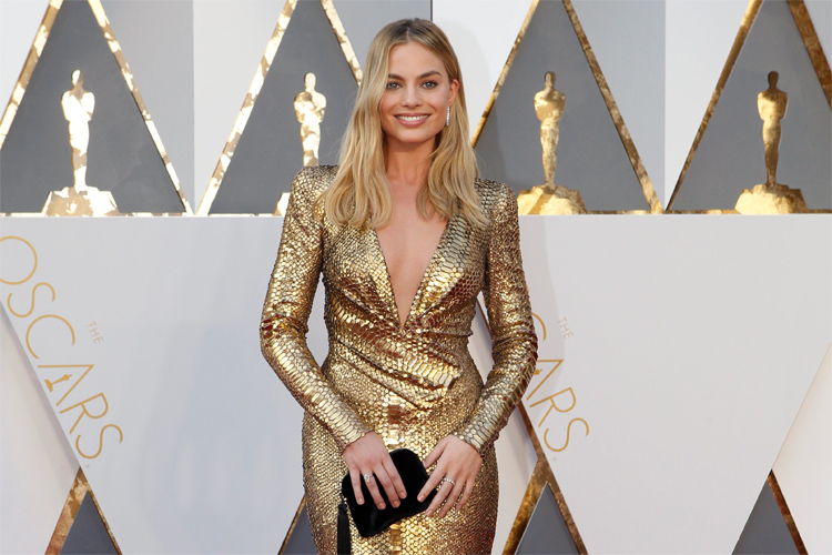 Margot Robbie at the 2016 Oscars