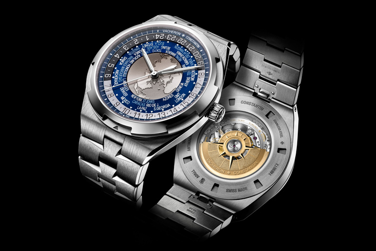 The Overseas World Time by Vacheron Constantin