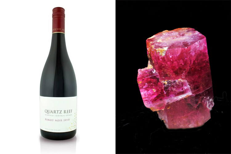 Quartz Reef Pinot Noir 2010 Central Otago and red beryl