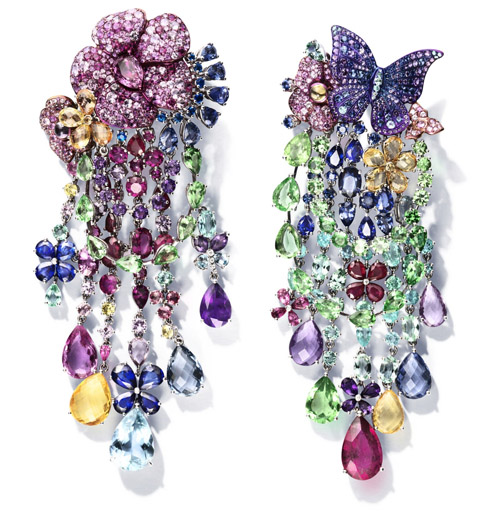 Rihanna Loves Chopard Chandelier Earrings
