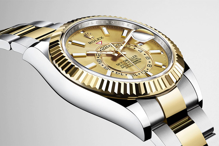 Rolex: if it features a clear case back, it is likely fake