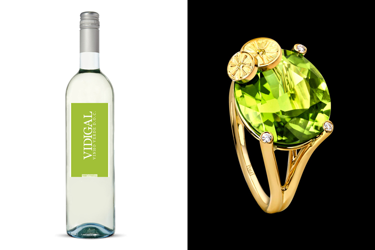 2014 Vidigal and a peridot from Piaget