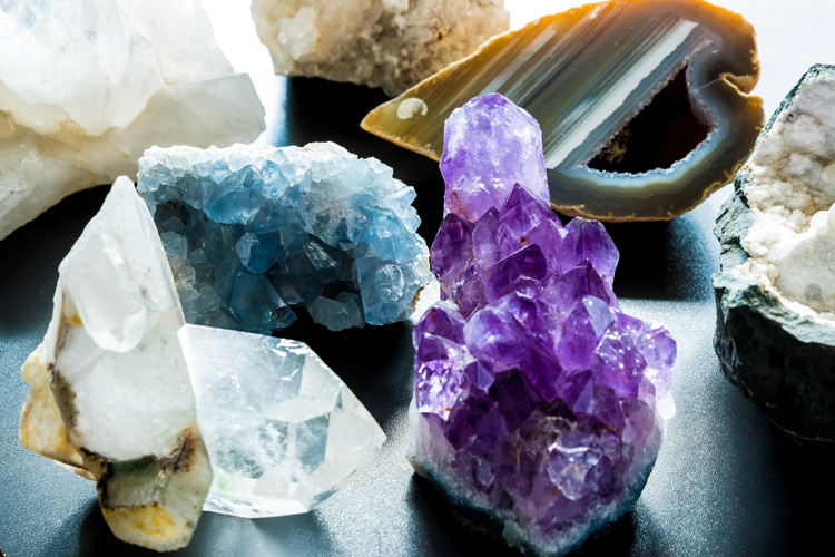What are semi-precious gemstones?